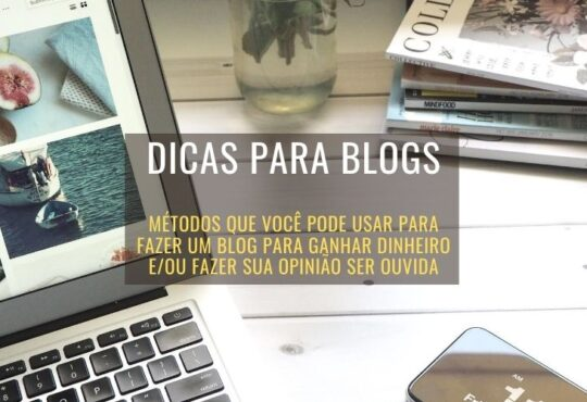 dicas para blogs